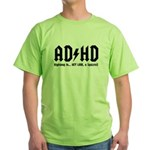 AD/HD Look a Squirrel Green T-Shirt
