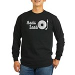 Music Snob Long Sleeve Dark T-Shirt