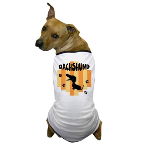 Dachshund Stripe Dog T's