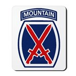 10th Mountain Division Mousepad