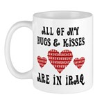 Hugs & Kisses - Iraq Mug