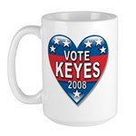 Vote Alan Keyes 2008 Political Large Mug
