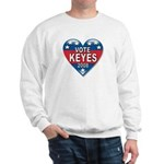 Vote Alan Keyes 2008 Political Sweatshirt