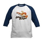 Afternoon Delight Kids Baseball Jersey
