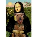 Mona Lisa - Airedale #3 Women's T-Shirt