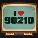 Retro I Heart 90210 T-Shirt