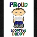 Proud Adoptive Daddy T-Shirt