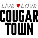 Live Love Cougar Town White T-Shirt
