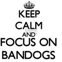 Keep calm and focus on Bandogs T-Shirt