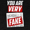 You are Very Fake News Funny Halloween Costume 201