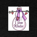 I LOVE WINTER T-Shirt