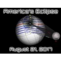 America's Eclipse with Moon August 21 2017 T-Shirt