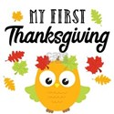 1st Thanksgiving White T-Shirt