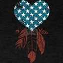 Patriotic Heart T-Shirt