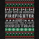 Sleep With Awesome Firefighter White Chris T-Shirt