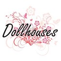 Dollhouses Artistic Design with Flowers T-Shirt