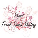 Short Track Speed Skating Artistic Design wit Mugs