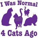 Normal 4 Cats Ago T-Shirt