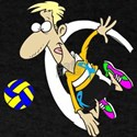 VOLLEY BOY TOON (RIBBON) T-Shirt