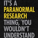 Paranormal Research T-Shirt