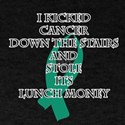 Cancer Bully (Teal Ribbon) T-Shirt
