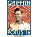 Griffith Potus 2016 White T-Shirt