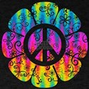 Colorful Peace Flower T-Shirt