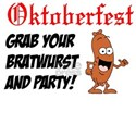 Grab Your Bratwurst And Party T-Shirt