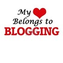 My heart belongs to Blogging T-Shirt