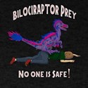 Bilociraptor Prey - Bisexual Support T-Shirt
