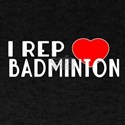 I Rep Badminton Sports Designs T-Shirt