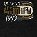 Gothic Birthday Queens Castle Born 1943 T-Shirt