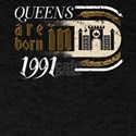 Gothic Birthday Queens Castle Born 1991 T-Shirt