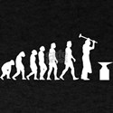 Evolution of a Blacksmith T-Shirt