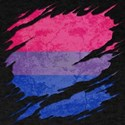 Bisexual Pride Flag Ripped T-Shirt