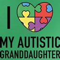 I Love My Autistic Granddaughter T-Shirt