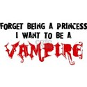 I Want to be a Vampire White T-Shirt