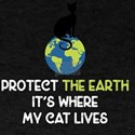 Earth Day Cat Funny T-Shirt