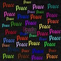 A Rainbow Of Peace Words T-Shirt