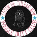 Coton De Tulear Mom Wiggle Butt Club T-Shirt