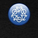 Recycle Bicycle Blue T-Shirt