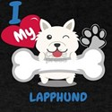LAPPHUND Cute Dog Gift Idea Funny Dogs T-Shirt
