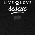 Vintage Love Live Rescue Shelter Dog Novel T-Shirt