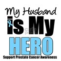 Prostate Cancer Hero (Husband) T-Shirts & Gifts