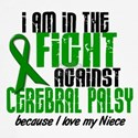 In The Fight Against CP 1 (Niece) Women's Long Sle