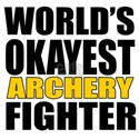 Worlds Okayest Archery Figh Shirt