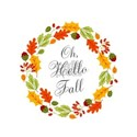 Oh Hello Fall Wreath T-Shirt