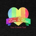 LGBT Heart Love Personalized T-Shirt