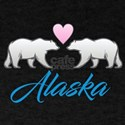 Alaska Polar Bear Heart T-Shirt