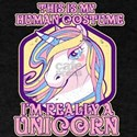 I'm Really A Unicorn Costume Halloween T-Shirt